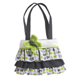 Fresh Lime Ruffle Tote picture