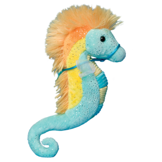 Turquoise & Yellow Sea Horse picture
