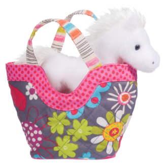 FLY AWAY-TOTE W/WHITE HORSE picture