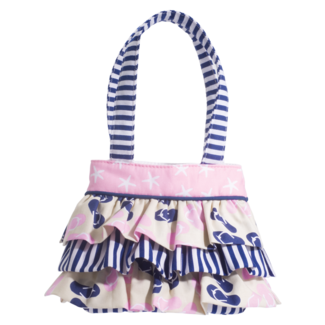 NAUTICAL  RUFFLE BAG picture
