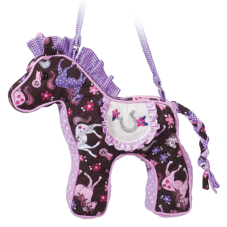 Pink Frilly Horse Sillo Bag picture