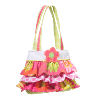 Girls Rock! Ruffle Tote picture