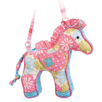 PINK CALLIOPE HORSE PURSE picture