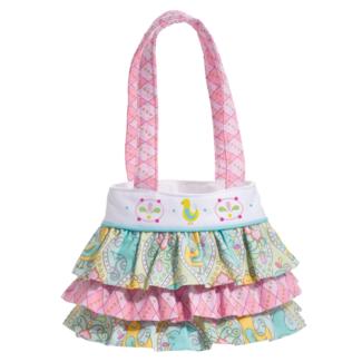 AQUA BIRD-RUFFLE BAG picture