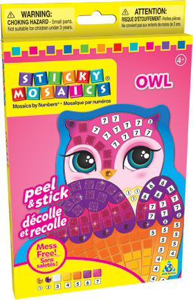 Sticky Mosaics® Owl picture