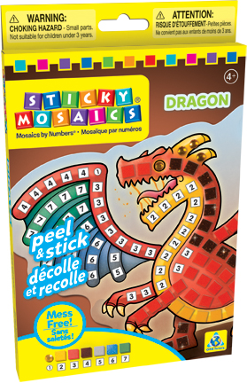 Sticky Mosaics® Dragon picture
