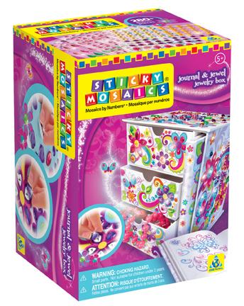 The Orb Factory Sticky Mosaics Journal Jewel Jewelry Box