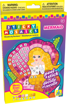 Sticky Mosaics® Mermaid picture