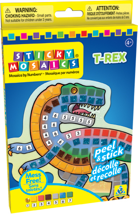 Sticky Mosaics® T-Rex picture