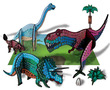 Sticky Mosaics® Dinosaurs additional picture 2