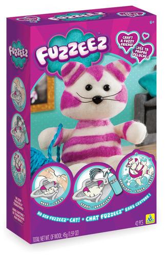Fuzzeez™ Striped Cat picture