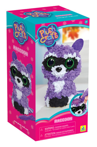 PlushCraft™ 3D Raccoon picture