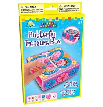 Sticky Mosaics® Butterfly Treasure Box picture