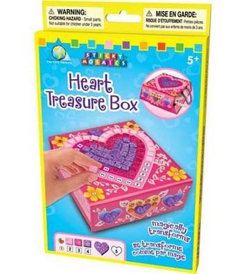 Sticky Mosaics® Heart Keepsake Box picture