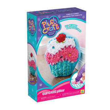 PlushCraft™ Cupcake Pillow picture