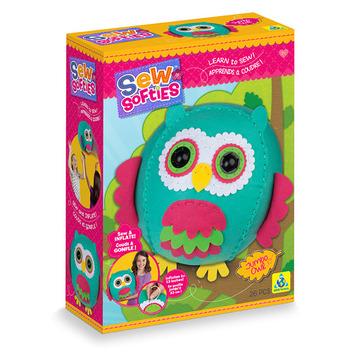 Sew Softies™ Jumbo Owl picture