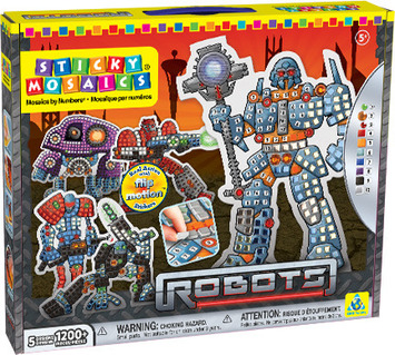 Sticky Mosaics® Robots picture