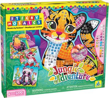 Sticky Mosaics® Jungle Adventure picture