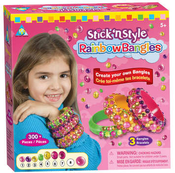Stick 'n Style® Rainbow Bangles picture