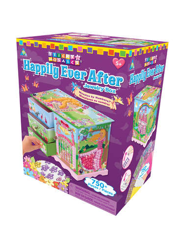 Sticky Mosaics® Happily Ever After Jewelry Box picture