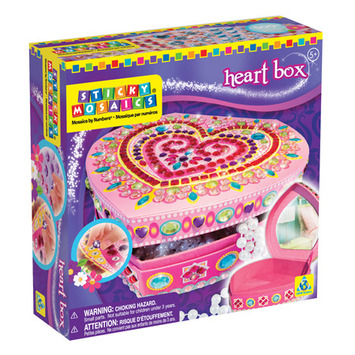 Sticky Mosaics® Heart Box picture