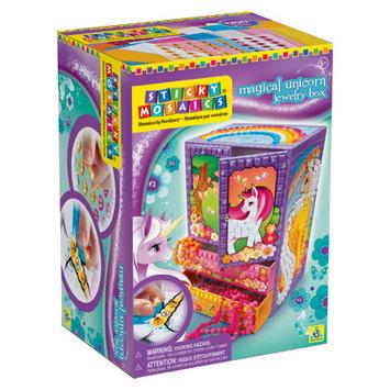 Sticky Mosaics® Magical Unicorn Jewelry Box picture