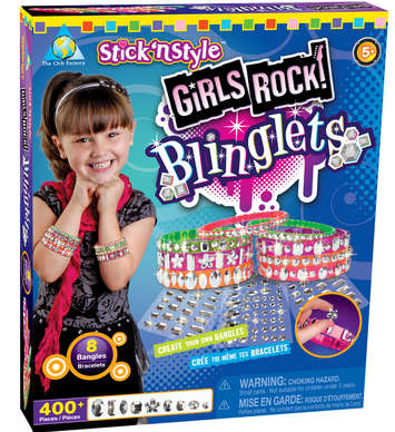 Stick 'n Style® Girls Rock! Blinglets picture
