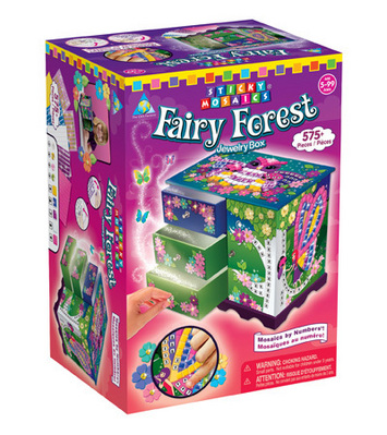 Sticky Mosaics® Fairy Forest Jewelry Box picture