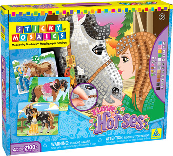 Sticky Mosaics® I Love Horses picture