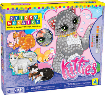Sticky Mosaics® Kitties picture