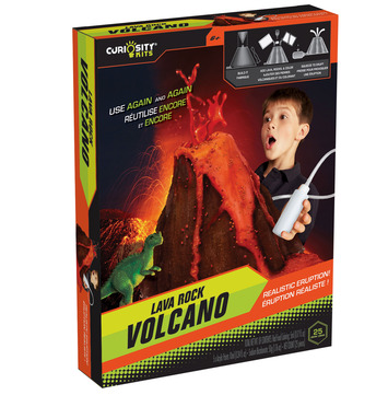 Curiosity Kits® Lava Rock Volcano picture