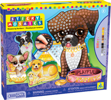 Sticky Mosaics® Playful Puppies picture