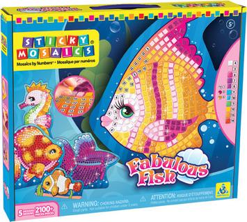 Sticky Mosaics® Fabulous Fish picture