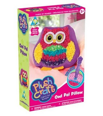 PlushCraft™ Owl Pal Pillow picture