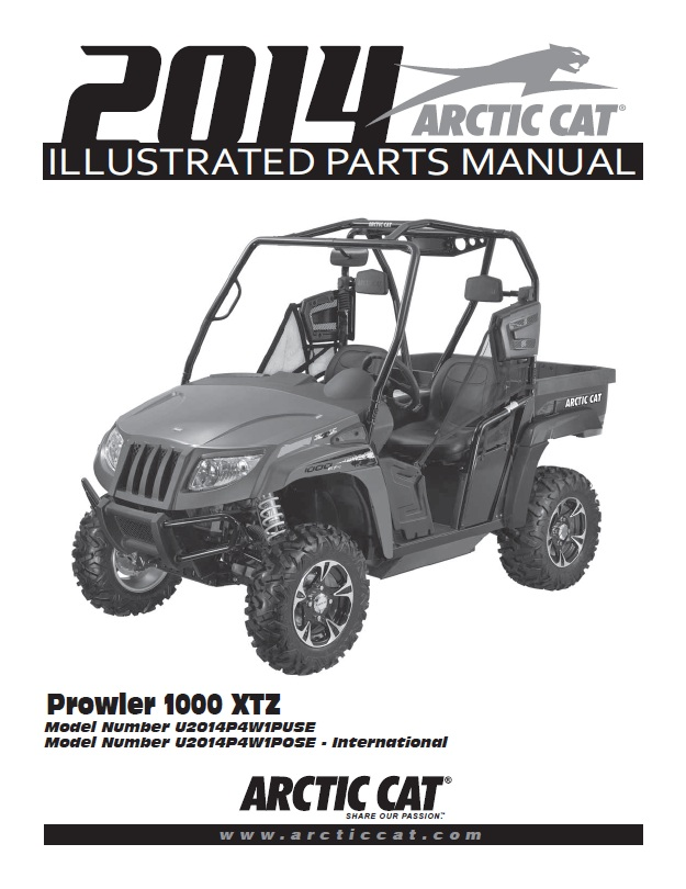 2014 arctic cat wildcat 1000 service manual
