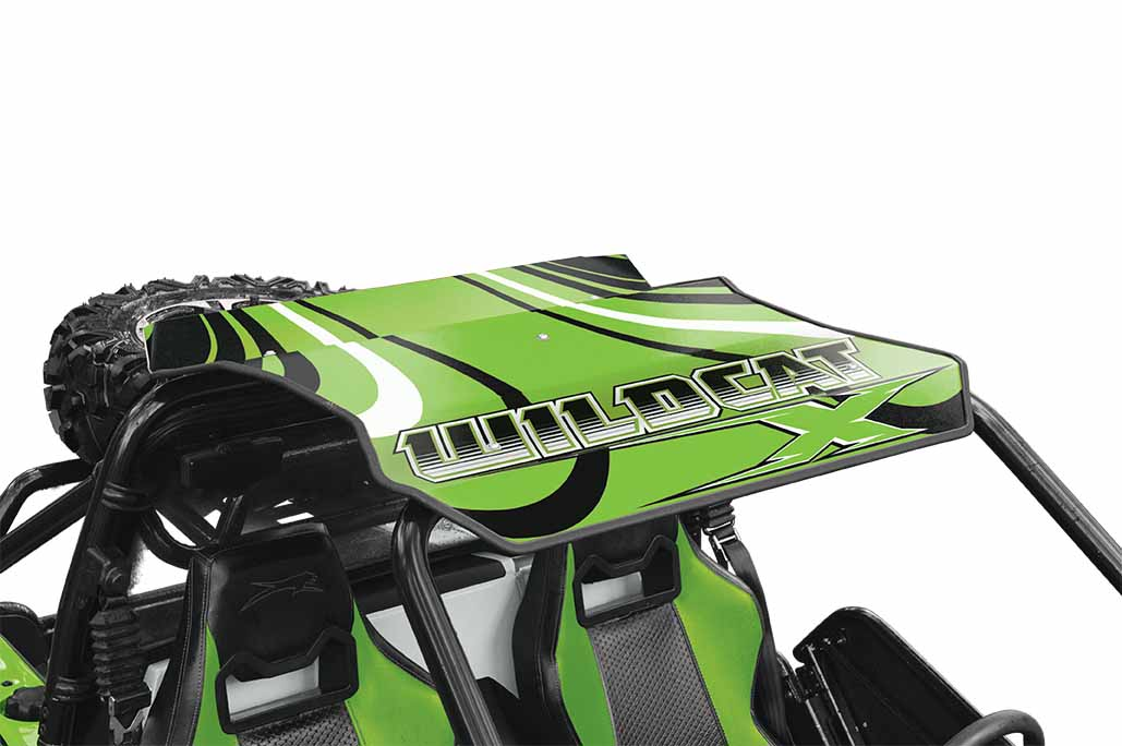 Wildcat X Roof Cat Wraps Arctic Cat Inc