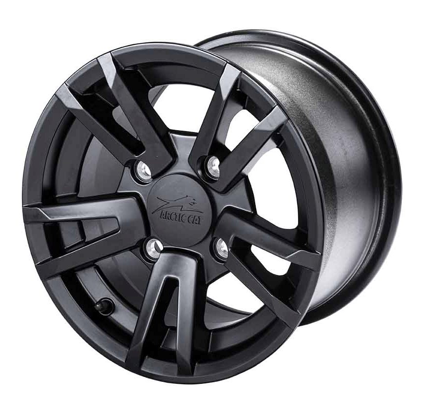 Arctic Cat, Inc. Turbo 10 Aluminum Wheel Matte Black 12X7 ...