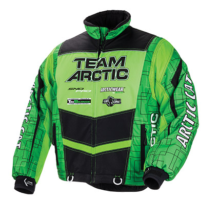Arctic Cat Inc Team Arctic Jacket Lime Medium Team