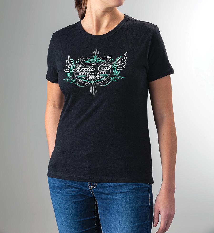 Arctic Cat Inc Arctic Cat Bamboo T Shirt Black 2x