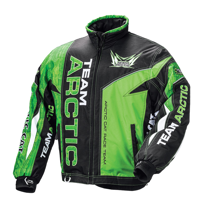 Arctic Cat Inc Team Arctic Jacket Lime 2x Large Tall Team Arctic Jacket Lime