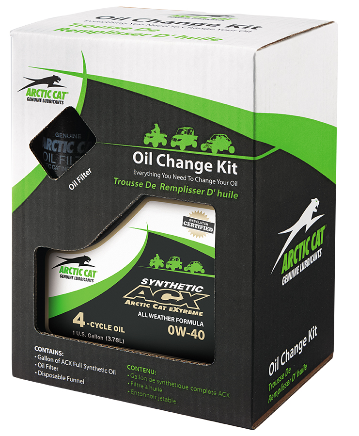 How To Change Oil In   Arctic Cat Atv