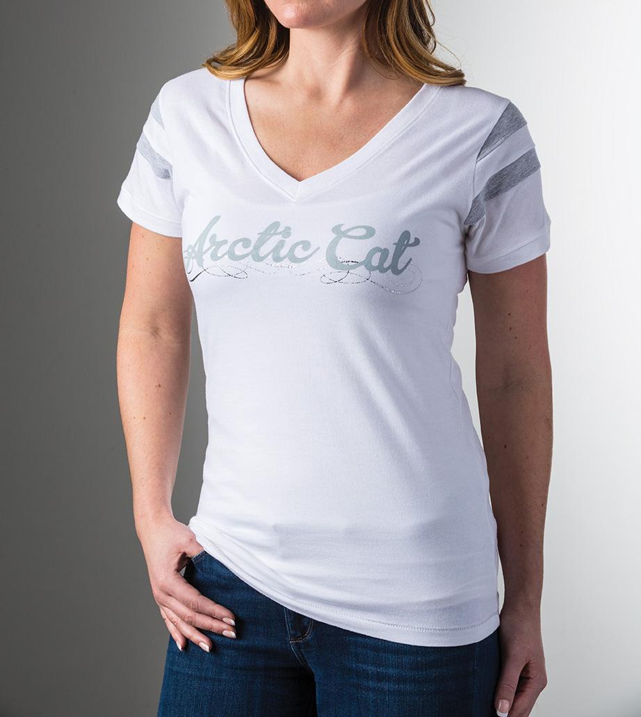 Arctic Cat Inc Arctic Cat T Shirt White 2x Large