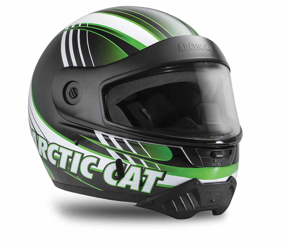 Pfp Aircat Helmet Green Arctic Cat Inc