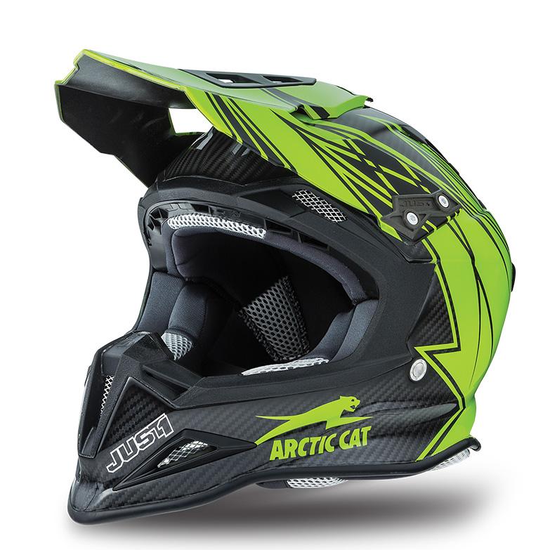 Arctic Cat Inc Mx Sno Cross Sno Pro Helmet Green Large