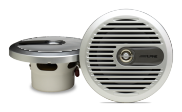 "6-1/2"" Coaxial 2-Way Marine Speaker picture"