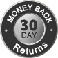 Our hassle-free 30 Day Return Policy should give you peace of mind. If you aren't delighted with your purchase then you can return any item on your order within 30 days and we will happily refund the item.