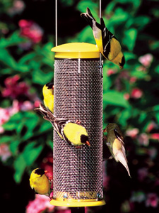 WBU Small Finch Mesh Bird Feeder (yellow) picture