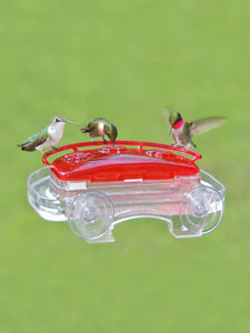 WBU Decorative Window Hummingbird Feeder – 8 oz picture