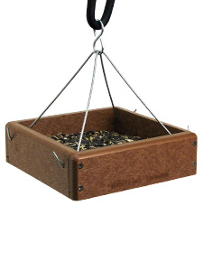 "WBU EcoTough® 9"" x 9"" Tray Bird Feeder with Hanging Rods picture"