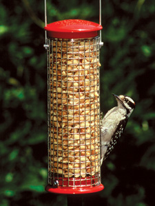 WBU Small Peanut Mesh Bird Feeder (red) picture
